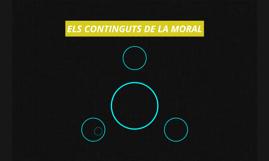 ELS CONTINGUTS DE LA MORAL