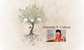 Dorothy F. Cotton
