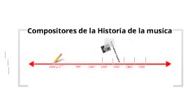 Compositores de la historia de la música