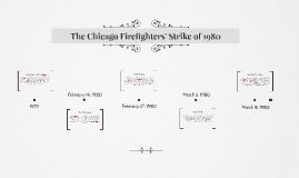 The Chicago Firefighters' Strike of 1980