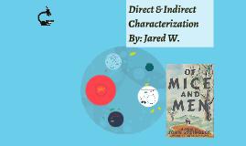 Direct & Indirect Characterization Prezi Project
