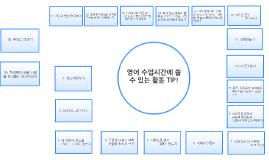 Copy of 영어 수업시간에 쓸 수 있는 활동 TIP!