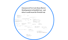 Commercial Tort Law: Some Recent Developments in Swedish Law