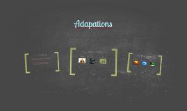Copy of Adaptation Notes