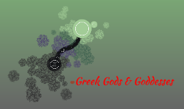 Greek Gods & Godessses