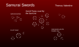 Sword Types used by the Samurai
