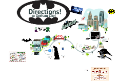 Copy of Copy of How to give directions...