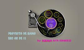Proyecto de radio ESC 05 DE 11