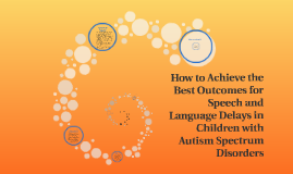 How to Achieve the Best Outcomes for Speech and Language Del