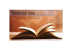 Normas APA.
