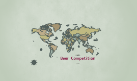 Beer Competition