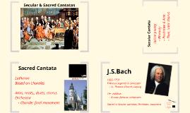 Secular & Sacred Cantatas