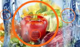 Conservación de Alimentos por congelación