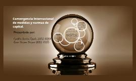 Convergencia Internacional de medidas y normas de capital