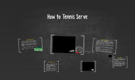 How to Tennis Serve