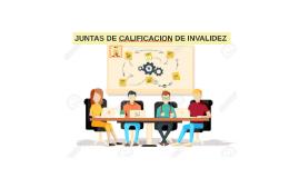 JUNTAS DE CALIFICACION DE INVALIDEZ