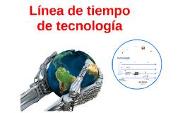 linea de tiempo de tecnologia
