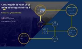 Construcci[onde redes en el trabajo de integración social
