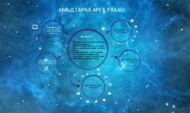 Copy of АМЬД ГАРАХ АРГА УХААН