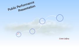 Public Performance Presentation