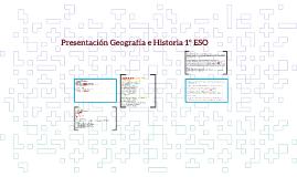 Presentación Geografía e Historia 1º ESO