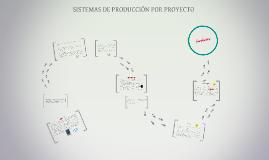 Copy of SISTEMAS DE PRODUCCION POR PROYECTO