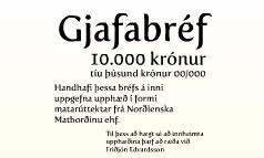 Gjafabréf