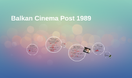 Balkan Cinema Post 1989