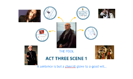 CONSIDERING ACT THREE SCENE ONE