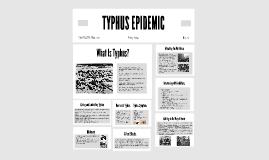 TYPHUS EPIDEMIC