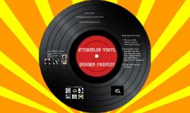 Stenciled Vinyl Records