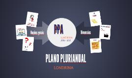 Apresentação Plano Plurianual de Londrina