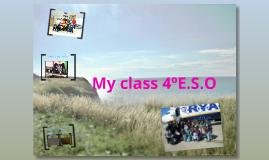 My class 4ºE.S.O