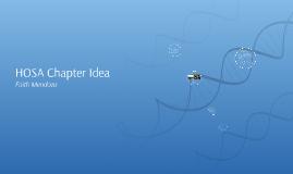 HOSA Chapter Idea
