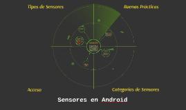 Sensores en Android