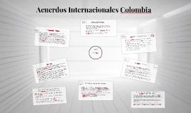 Acuerdos Internacionales Colombia
