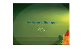"Intro Thanapon ^^"""