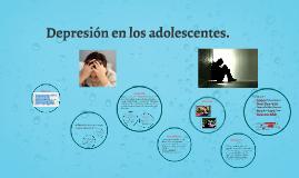 Depresión en los adolescentes.