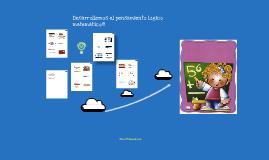 Copy of Copy of Orientación para la Educadora de Párvulos: Desarrollo del Pensamiento lógico matemático en menores de 6 años.