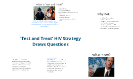 'Test and Treat' HIV Strategy Draws Questions
