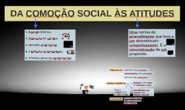 DA COMOÇÃO SOCIAL ÀS ATITUDES
