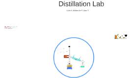 Distillation Lab