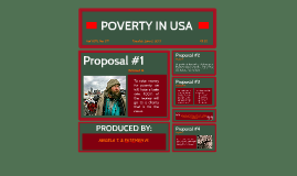 POVERTY IN U.S.A.