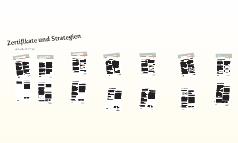 Zertifikate und Strategien