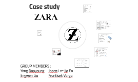 Case study Zara Macintosh
