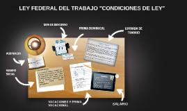 """""""CONDICIONES SALARIALES DEL LEY"""""""