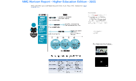 NMC (2015) NMC Horizon report: 2015 Higher Education Edition