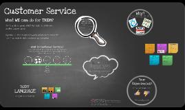 Copy of Copy of Customer Service