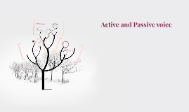 Study section 2.2 - Active and Passive voive (pg.19)