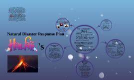 Natural Disaster Response Plan